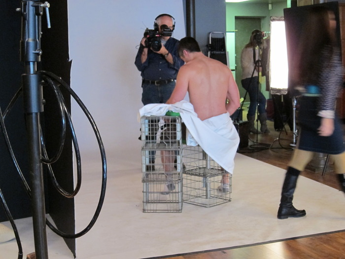 a Sourcebooks cover shoot in Chicago