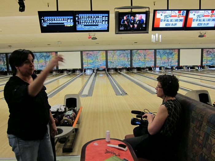 shooting James Buchanan & her family bowling in California