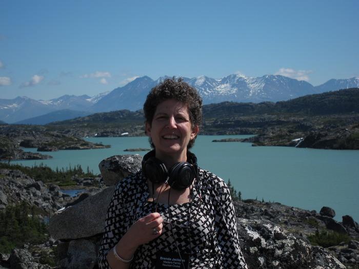 me, enjoying the mountains near Skagway, Alaska!