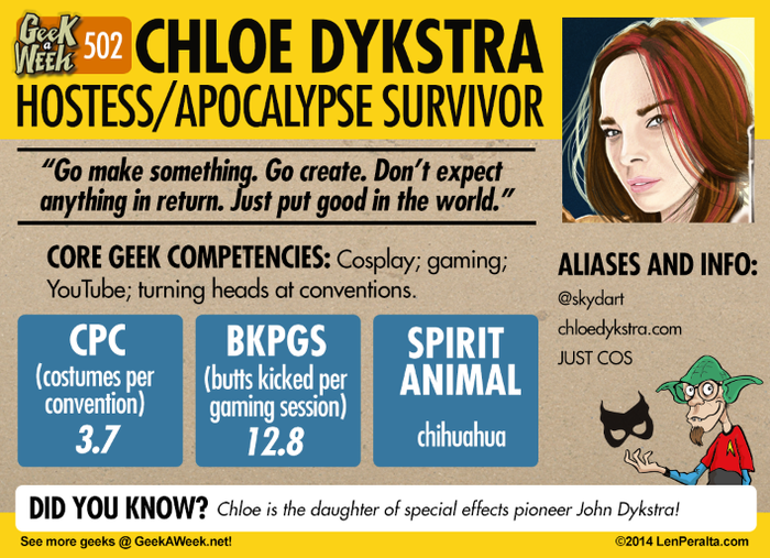 A preliminary look at the newly redesigned Geek A Week cardbacks written by Storm DiCostanzo!