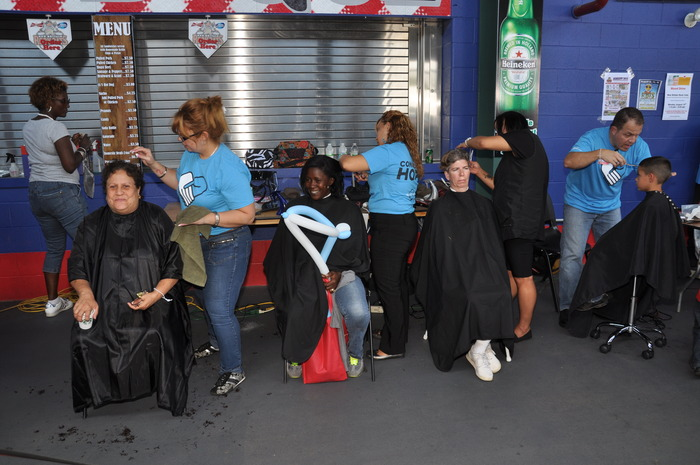 """Over 400 Free Haircuts. """" Convoy New Britain 2013"""""""