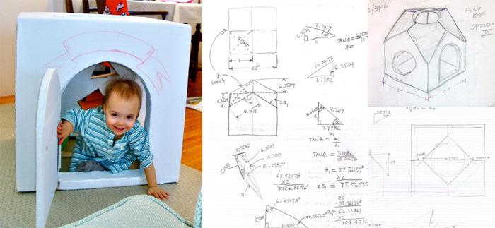The original Curio Pod and preliminary developmental sketches.