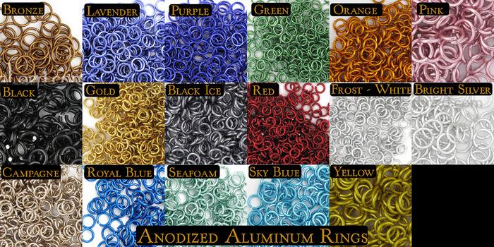 AA Rings (Anodized Aluminum Rings)