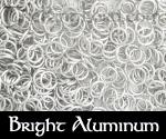 Bright Aluminum Rings