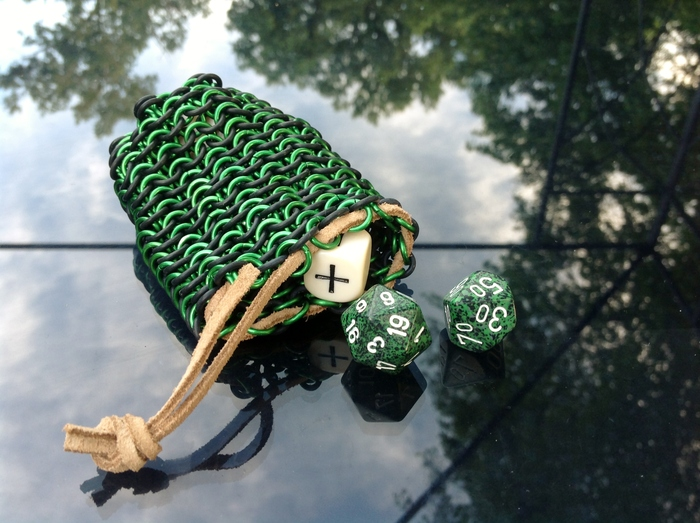Small Dice Bag Open