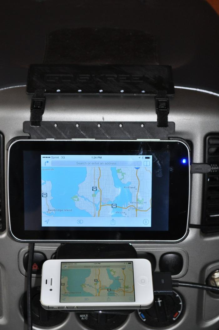 CarSkreen Navigation Screen - iPhone 4s