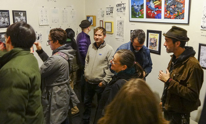 One NIght Stand Gallery show