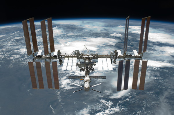 The International Space Station - typical view