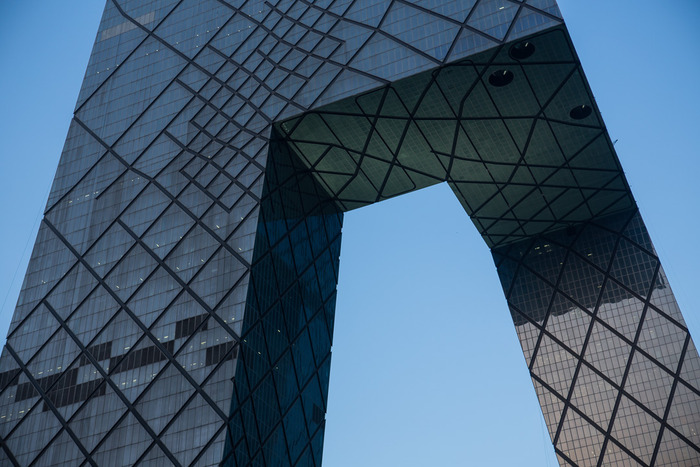 """CCTV Tower - 20""""x30"""" & 40""""x60"""" - Editions of 8"""