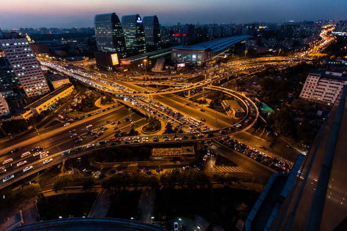 "Xizhimen Traffic Interchange - 20""x30"" & 40""x60"" - Editions of 8"