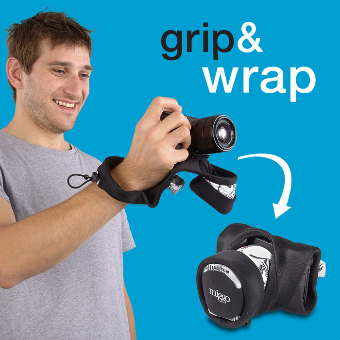 Grip&Wrap for Mirrorless (CSC) Cameras
