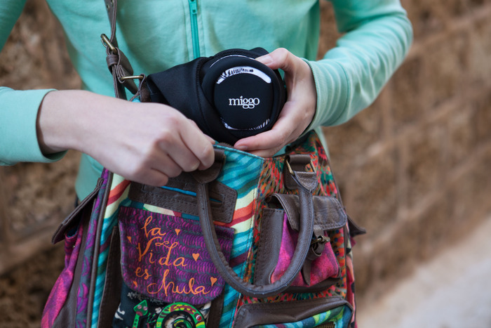 Your day bag + miggo = The perfect protection for your camera