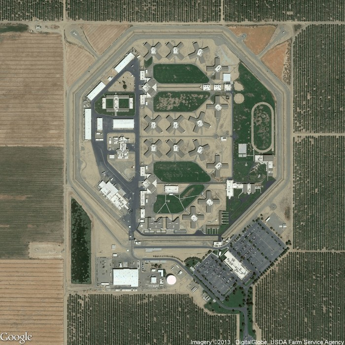 Josh Begley Facility 492 From the series Prison Map.