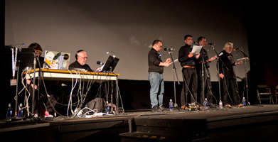 "The HPLHS and backer Umberto Lenzi perform ""At the Mountains of Madness"" in 2013."