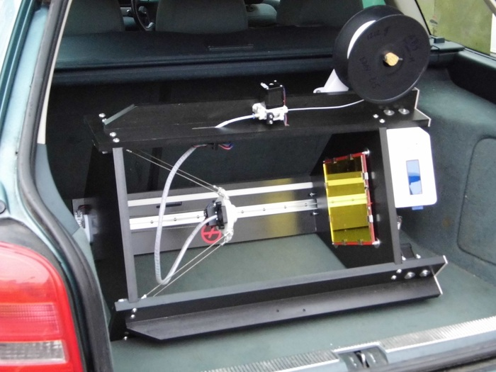Unlike many consumer printers, the robust DeltaTrix 3D Printer does not need to be re-calibrated whenever you move it around. Chuck the printer in the back of a car, drive it anywhere, and when you take it out you can start printing straight away.