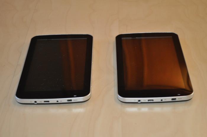 Prototype 3 (left) and Prototype 4 (right)