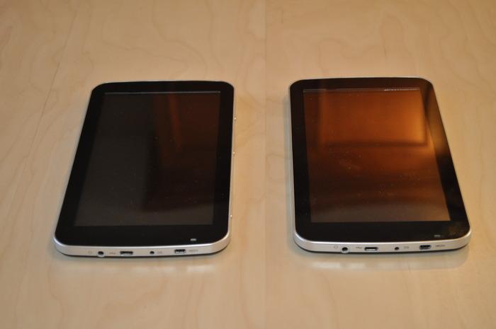 Prototype 5 (left) and Prototype 6 (right)