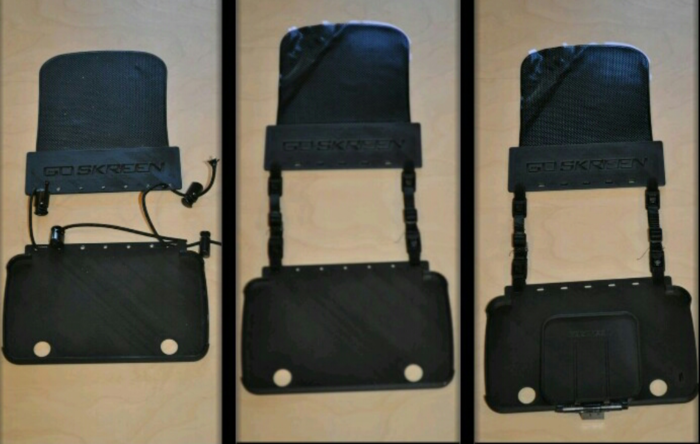 Initial Case Prototype (left), Second Case Prototype (middle), and Third Case Prototype
