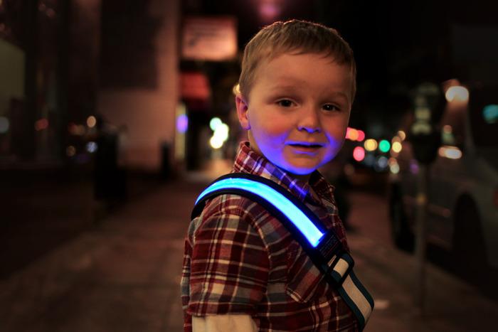 Halo Belt Blue - Child Safety