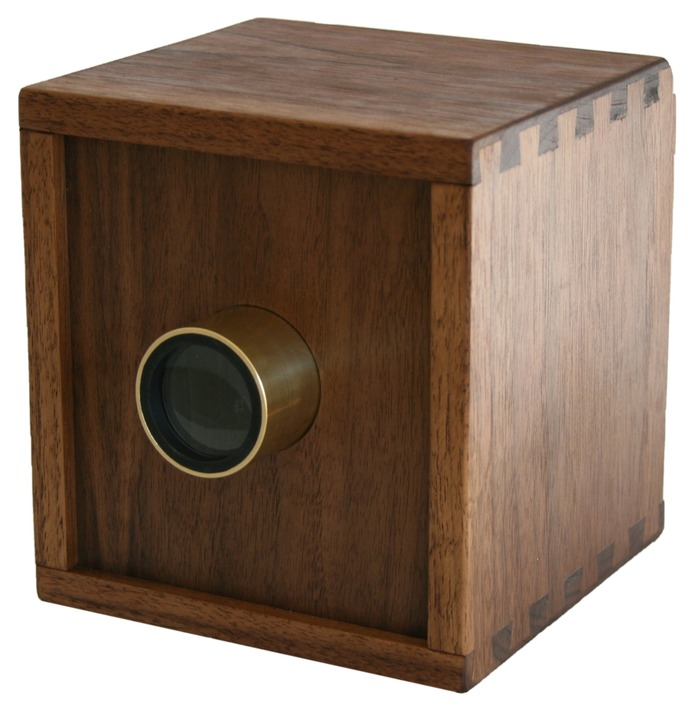 Walnut camera obscura