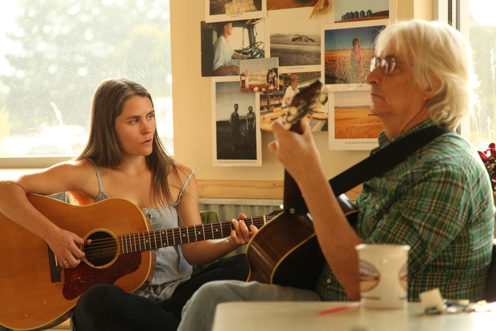 Britt and Richie perform acoustic folk music almost every Thursday from 9:30-11am at the Wheat Montana Bakery and Deli in Missoula.