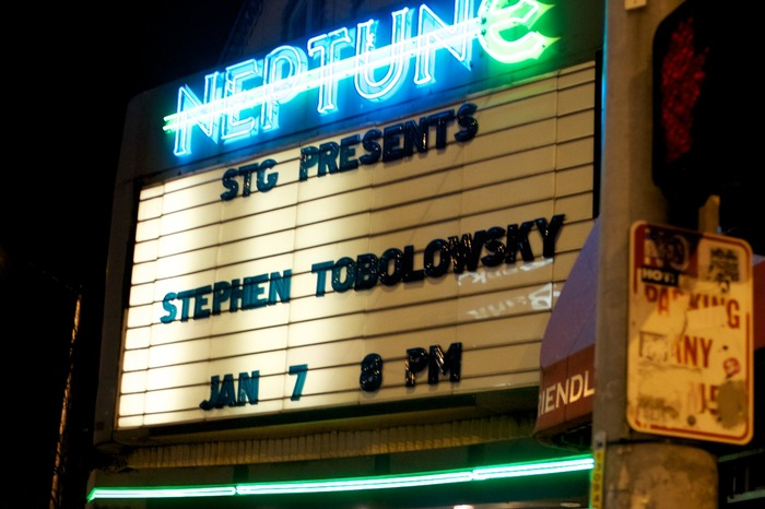 Stephen Tobolowsky's sold-out show at the Neptune Theater