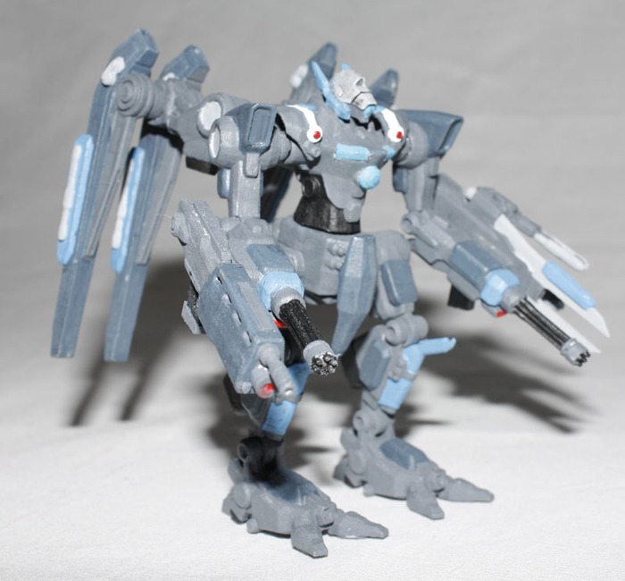 Paladin Machinegun Version