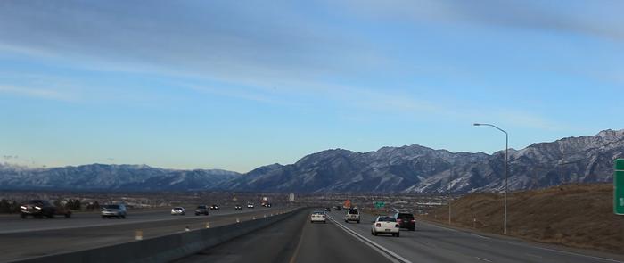 Salt Lake City on a good day.