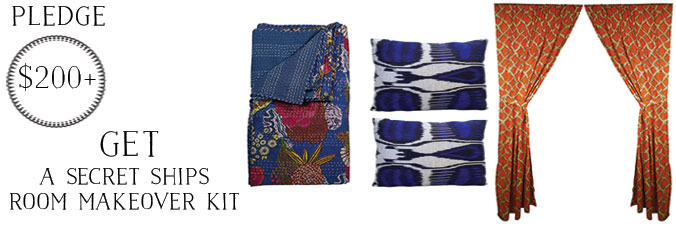Your choice of available colors for all rewards. Kantha quilts are hand sewn, 100% cotton. A $255 retail value.