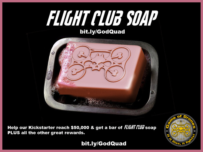 Help us reach $50k and get Flight Club soap