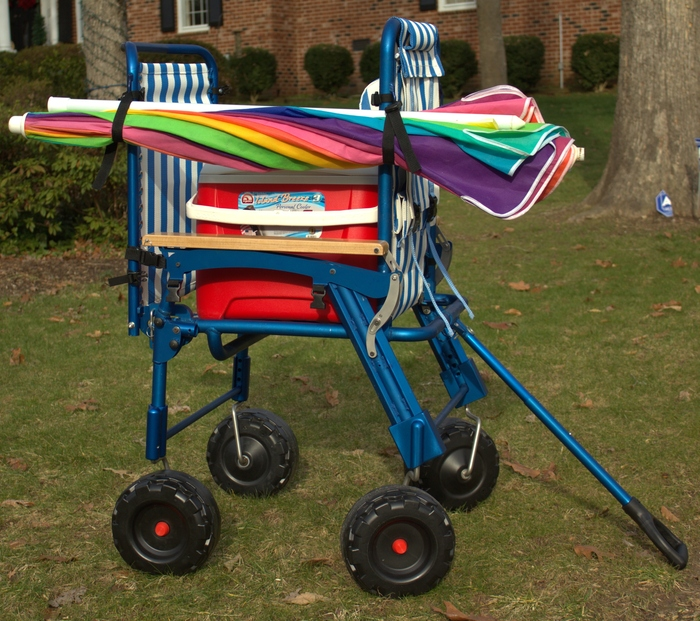 A Single Chair is so easy to convert into a wagon!