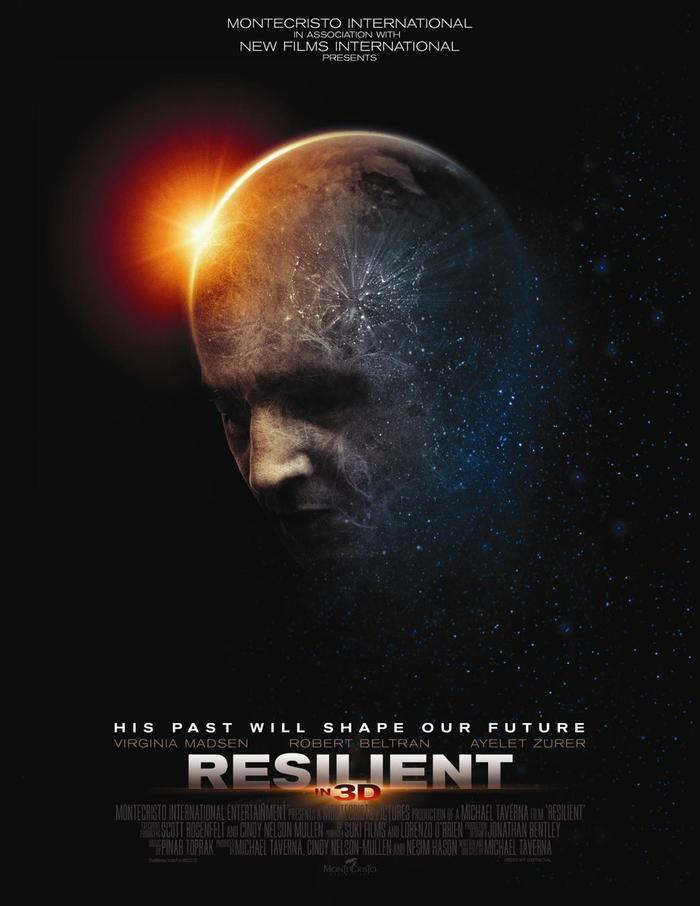RESILIENT 3D Poster - Robert Beltran