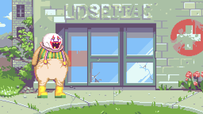 The hopsital near Dropsy's home.