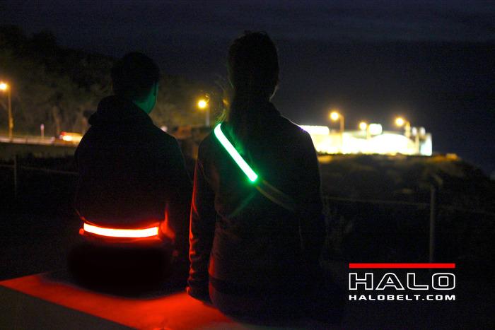 Halo Belt provides BRIGHT VISIBILITY!