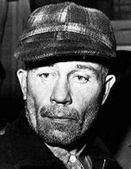 """Ed Gein's life story really motivated me in creating a character equally twisted and real for """"Hunger""""."""