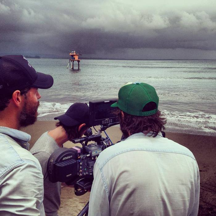 Shooting surf in Indonesia with Deus, Stephan is behind the camera