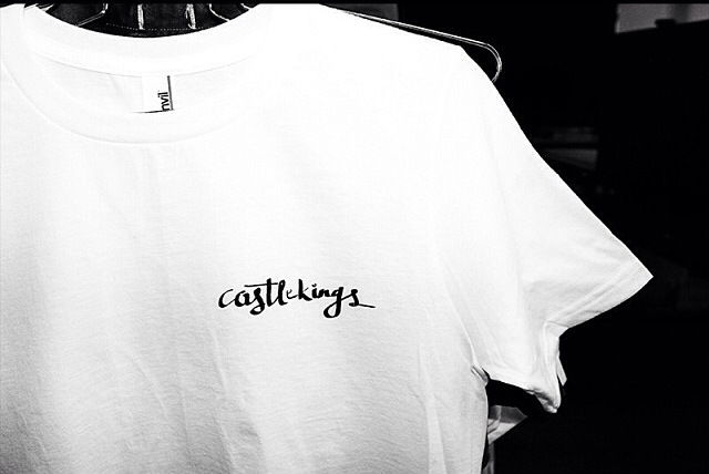 CASTLEKINGS Shirt - Printed on Cotton Anvil t-shirts by Wunder Print and Design in Brooklyn
