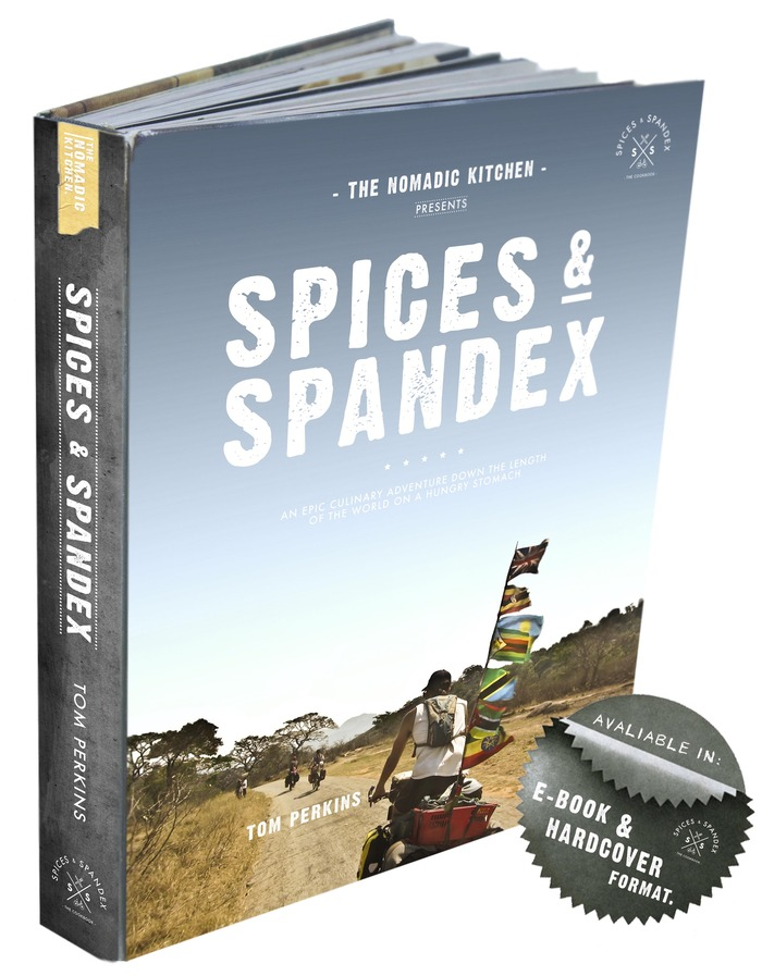 ( A dummy copy of how Spices & Spandex could look ).