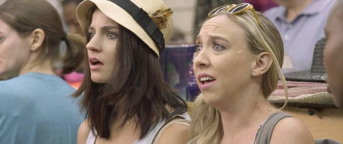 """Is he stealing our bike?"" - Bridey Elliott and Clare McNulty in Fort Tilden"
