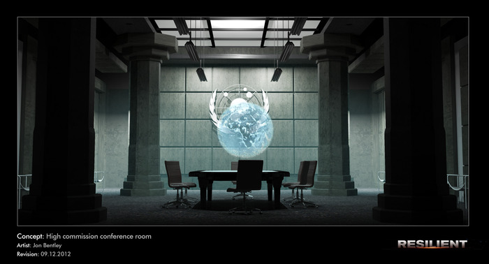 High Commission Conference Room (holographics)