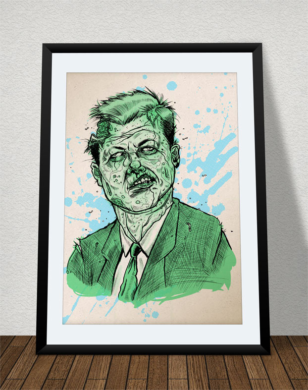 Screen Printed Poster (frame not included)
