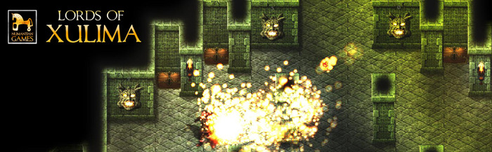 The development of Lords of Xulima can be as dangerous as trying to steal a gold chest from the Fire Stone Guardians