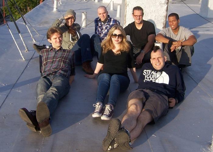 Top left to bottom right: Danni Smith, Martin Monahan, Austin Moore, Vadin Lum You, Tim Lueke, Carys Edwards, Jaron Henrie-McCrea
