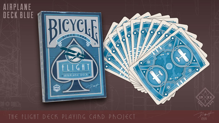 click here to see a larger version of the vintage aviation playing cards
