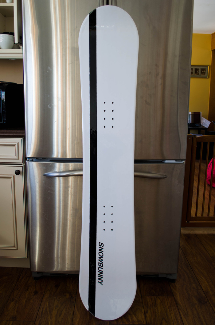 The first prototype built by Empire, keepin' it cool by the fridge.