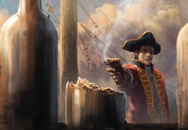 Sail the high seas or wield muskets and pistols in O.L.D.