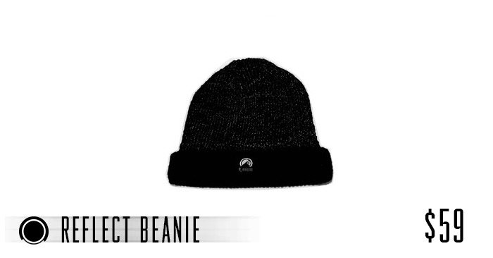 $59 Fully Reflective Hand Made Knit Beanie