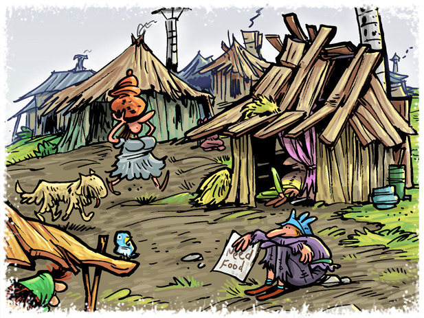 The Shanty, cheap housing, LOTS of room, and none of the glamour.