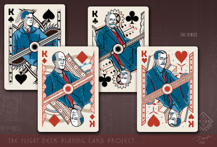 Click to see Airplane Playing Cards Larger
