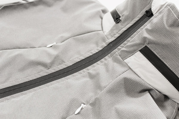 Water Resistant Zips on ALL Jacket and Vest Models